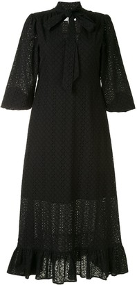 We Are Kindred Bronwyn embroidered midi dress