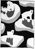 Ice Bear Throw Blanket