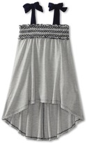 Luna Luna Copenhagen Portia Dress (Little Kids/Big Kids) (Navy) - Apparel