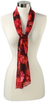 Calvin Klein - Painted Floral Silk (Red) - Accessories