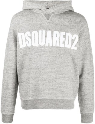 DSQUARED2 Vertical logo hoodie