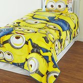 Universal Minions Blanket Despicable Me Plush Blanket Twin
