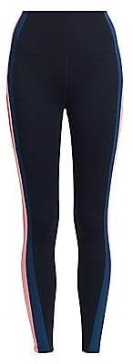 Splits59 Women's Jaden Racing Stripe High-Waist Leggings