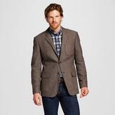 Merona Men's Slim Fit Suit Coat Brown