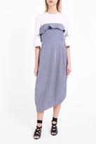 Awake Strapless Striped Dress