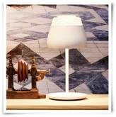 Moooi Valentine Table Lamp White With Chrome Inner