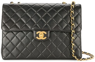 Chanel Pre Owned 1994-1996 Jumbo XL chain shoulder bag