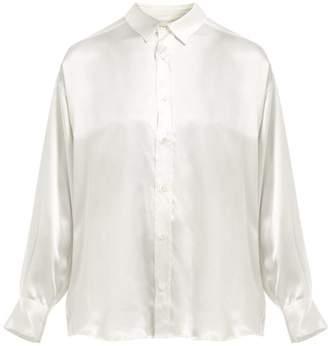Katharine Hamnett Nicola Silk Shirt - Womens - White