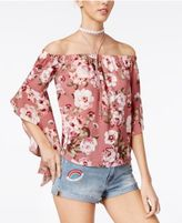 Polly & Esther Juniors' Off-The-Shoulder Top
