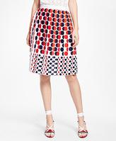 Brooks Brothers Printed Skirt