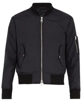 Ami Zip-through Technical Bomber Jacket