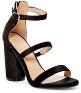 C Label Sorbet Velvet Strappy Sandal