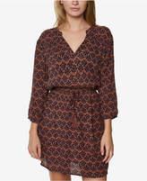 O'Neill Juniors' Lynda Printed Peasant Dress