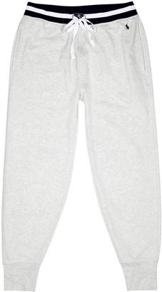 Polo Ralph Lauren Grey cotton-jersey sweatpants