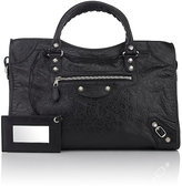 Balenciaga Women's Arena Leather Giant City Bag
