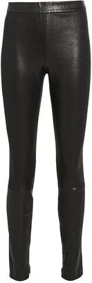 Intermix Melanie Leather Leggings