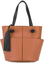 Tod's open tote - women - Leather - One Size
