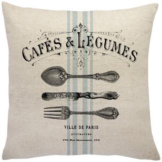 The Watson Shop French Farmhouse Linen Throw Pillow