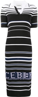 Iceberg striped T-shirt dress