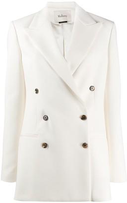 Mulberry long sleeve boxy fit blazer