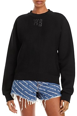 alexanderwang.t Foundation Cotton Terry Sweatshirt