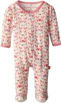 Magnificent Baby Baby-Girls New-Born Lovebird Footie