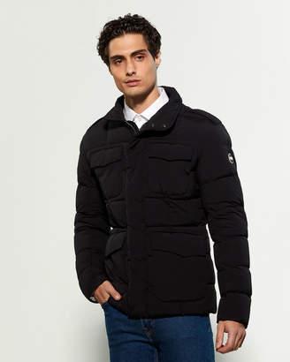 Colmar Black Full-Zip Down Jacket