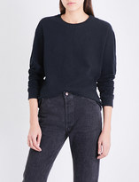 James Perse Slouchy-fit cotton-jersey sweatshirt