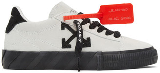 Off-White White New Arrows Vulcanized Low Sneakers