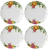 Royal Albert Old Country Roses 4-pc. Melamine Salad Plate Set