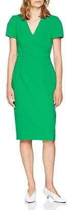 LK Bennett Women's BESSA Party Dress, (Fern Green 883), 14(Size: )