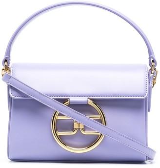 Elisabetta Franchi Logo-Plaque Tote Bag