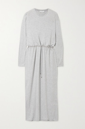 Ninety Percent Net Sustain Melange Tencel Maxi Dress - Gray