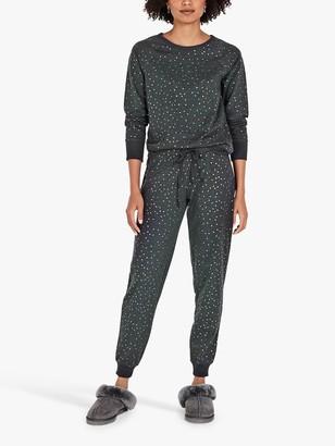Hush Klara Star Print Jersey Pyjama Set