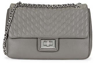 Karl Lagerfeld Paris Diamond Quilted Clutch Crossbody Bag