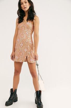 Free People Show Off Sequin Mini Dress