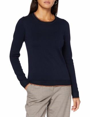 Scotch & Soda Women's Basic Striped Pullover Sweater