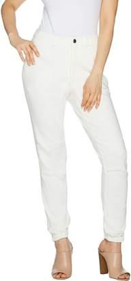 Lisa Rinna Collection Regular Banded Bottom Skinny Ankle Pant