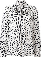 Marc Jacobs embroidered blouse - women - Silk - 6