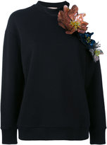 Christopher Kane cut out flower sweatshirt