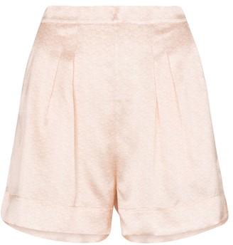 Eres Loyal silk-satin shorts
