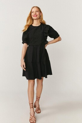 Coast Guipure Lace Trim Dress
