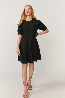 Coast Guipure Lace Trim Dress