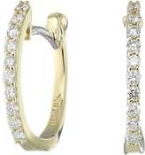 Roberto Coin Perfect Diamond Huggy Earrings Earring