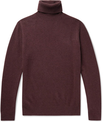 Aspesi Yak And Wool-Blend Rollneck Sweater