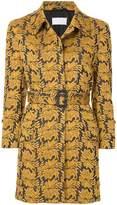 Maison Margiela belted jacquard jacket