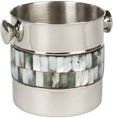 Bradburn Gallery Home Pearce Ice Bucket w/ Mother-of-Pearl