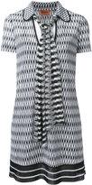 Missoni tie fastening shift dress - women - Viscose - 44