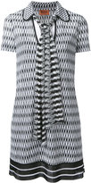 Missoni tie fastening shift dress