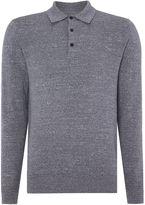 Peter Werth Dentan Long Sleeved Polo Shirt